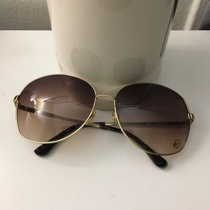 Michael Kors Lucia M2059S Gold Sunglasses